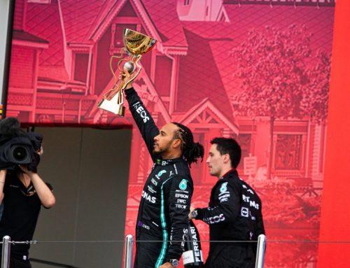 Record de Hamilton en la F1: 100 celebraciones en la máxima categoría